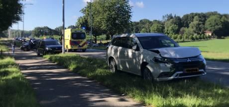 Vrouw gewond bij kettingbotsing in Rhenen
