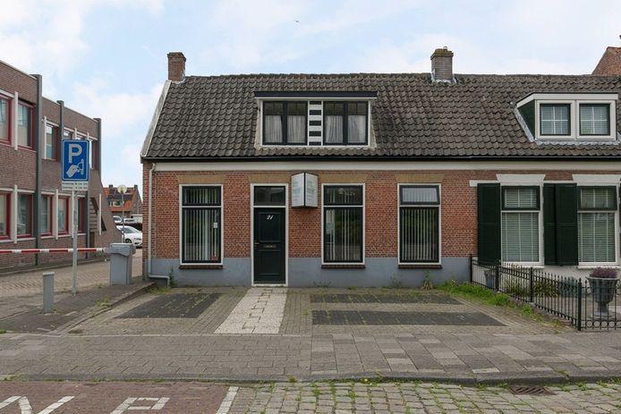 Het toekomstige onderkomen van het TEJO-huis aan de Frans den Hollanderlaan.