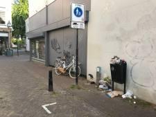Ineens boordevolle prullenbakken in Deventer binnenstad: gemeente gaat tijdelijk kliko's bijplaatsen