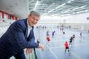 Martin Reesink stopt in de politiek en kan zijn tijd goed gebruiken voor zijn taken als voorzitter van volleybalclub Apollo 8 in Borne.