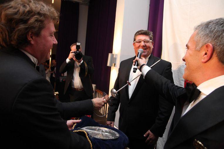 In het Kursaal Oostende werd Dario tot culinaire ambasadeur geslagen.