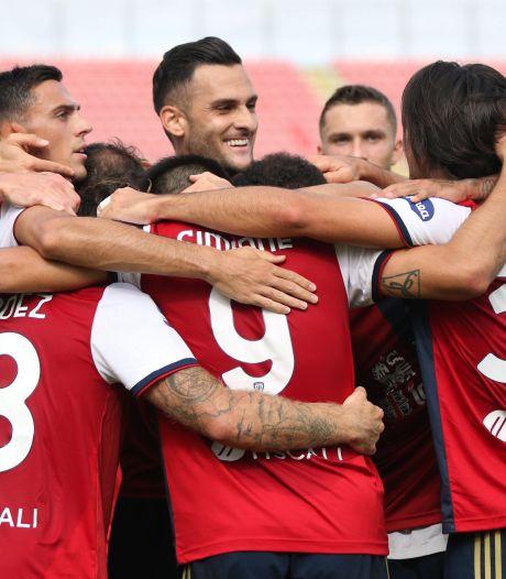 Cagliari wint van tiental Crotone; Smaakmaker Castrovilli helpt Fiorentina aan zege op Udinese