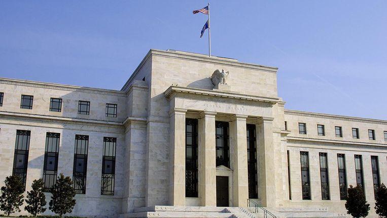 De Amerikaanse Federal Reserve in Washington, D.C. op 19 maart 2005. Beeld afp