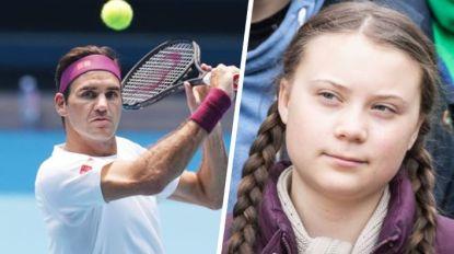 Federer verdedigt zich na kritiek van Greta Thunberg op  zijn lucratieve sponsordeal met Credit Suisse