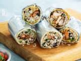 Burrito met kip