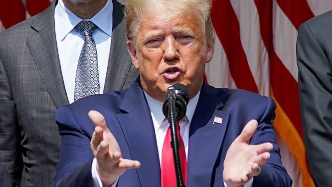 """Wall Street hoger door jobrapport, Trump reageert: """"Historische cijfers. Onze economie bruist opnieuw"""""""