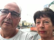 Dirk-Jan en Anneke ontsnappen aan brugramp dankzij kleine file