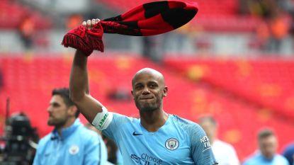 """Vincent Kompany kondigt afscheid bij Manchester City aan: """"Ik voel niets dan dankbaarheid"""""""