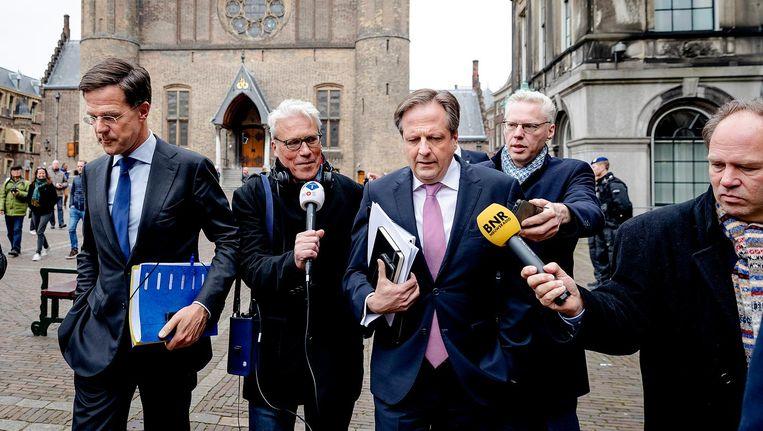 'Wij pleiten voor een kabinet dat durft te experimenteren met voorgenomen beleidsmaatregelen.' Beeld anp