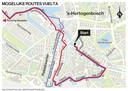 Mogelijke route Vuelta.