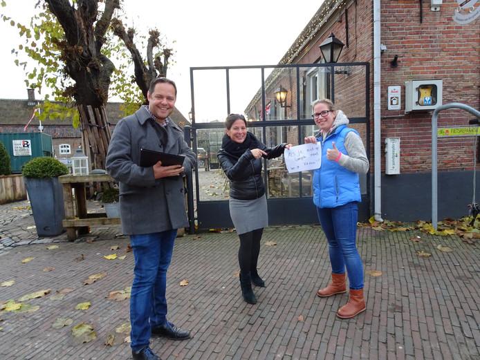 Ad Schelle, Josephine Bekkers en Yvon van den Bosch.