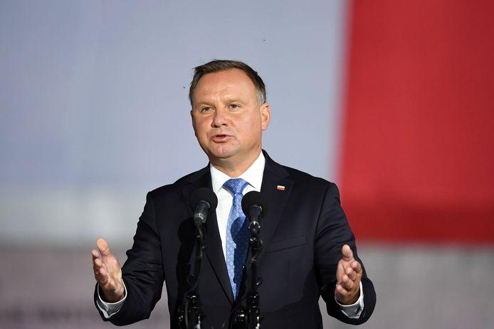 Andrzej Duda, le président polonais.