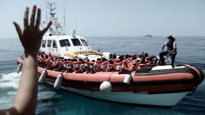 Franse kustwacht onderschept 30 migranten op Kanaal, ook kinderen en baby aan boord