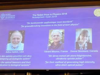 Wetenschappers krijgen Nobelprijs voor baanbrekende ontdekkingen op vlak van laserfysica