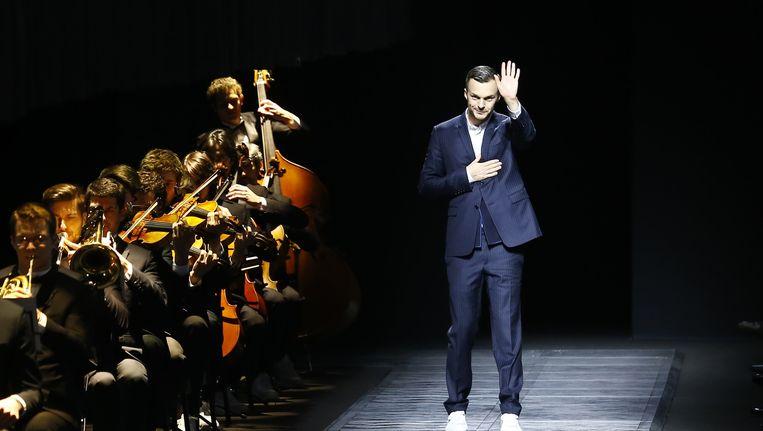 Belgische modeontwerper Kris Van Assche.