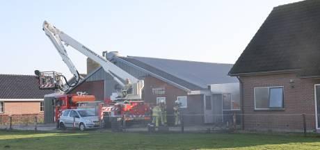 Gewonde bij keukenbrand in Noordeinde