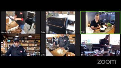 Birger Allary en collega-barbecuemeesters gaan marathonworkshop van meer dan 24 uur livestreamen