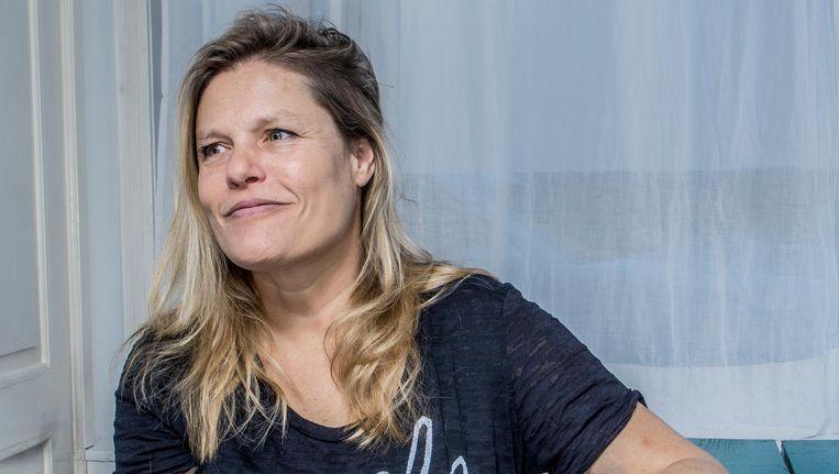 Schrijfster Inge Schilperoord. Beeld Adrie Mouthaan