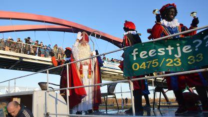 Sinterklaas komt zondag met stoomboot naar Denderleeuw