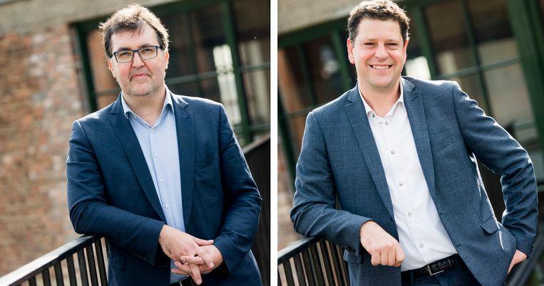 Samen-lijsttrekker Wouter Van Besien (Groen) distantieert zich voorlopig niet van Antwerps sp.a-voorzitter en Samen-kopstuk Tom Meeuws.