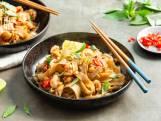 Wat Eten We Vandaag: Pad thai met garnalen, Thaise basilicum