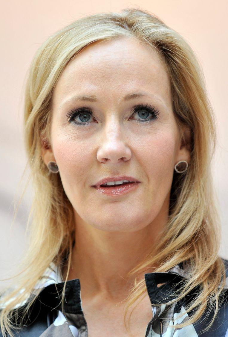 J.K. Rowling. Beeld EPA