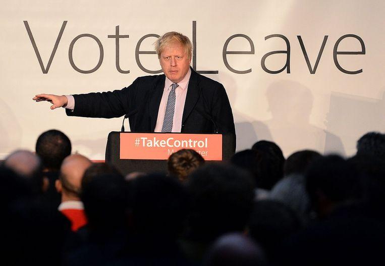 Boris Johnson Beeld afp