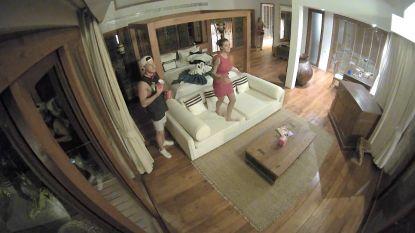 Niet op tv: Milou krijgt op 'Temptation Island' een bijzondere gast op bezoek in haar kamer