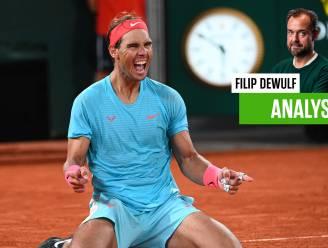 """""""Dankzij passie en eeuwige zin voor verbetering"""": volgens onze tennisexpert is Nadal (34) ook in 2021 nog de gravelkoning"""