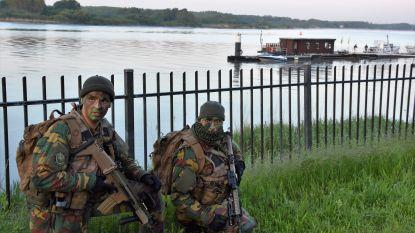 Militaire oefening in haven en Westakkers