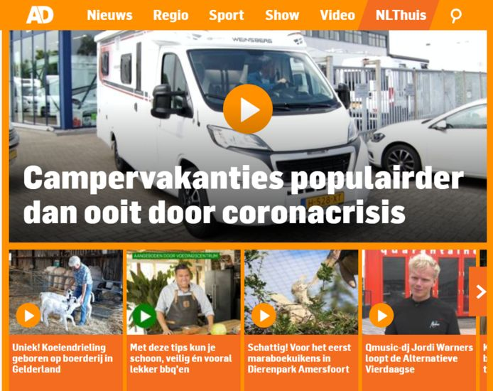Screenshot NL Blijft Thuis Zomer