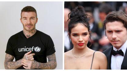 Strubbelingen bij de Beckhams: David is geen fan van het lief van zoon Brooklyn