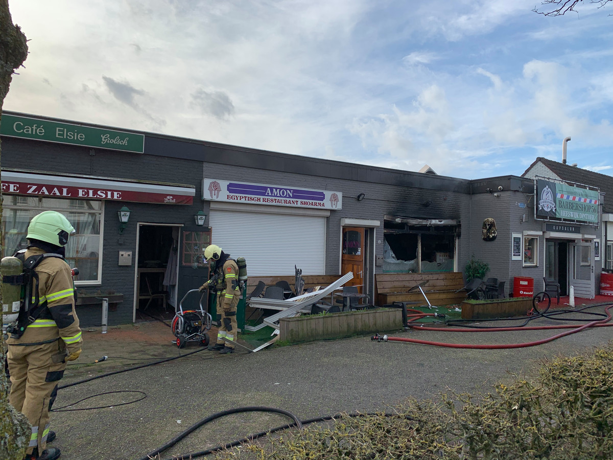 Brand in Heeswijk-Dinther.