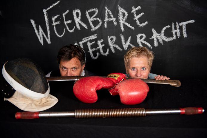 De trainers van Weerbare veerkracht: Eric Pattiselanno en Japke de Vries.