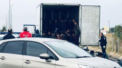 Politie vindt 41 migranten in koelwagen in Noord-Griekenland