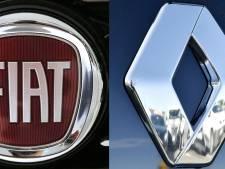 """Renault exprime son """"intérêt"""" pour une fusion avec Fiat Chrysler"""