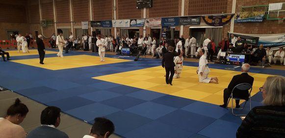 In Herenthout stond zaterdag een internationaal G-Judotornooi op het programma.