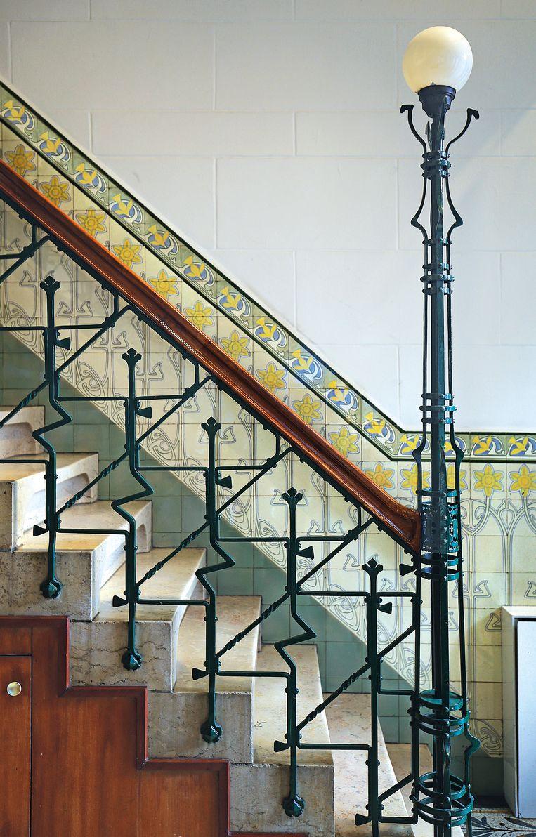 Art Nouveau in Amsterdam.  Beeld Pim van Schaik