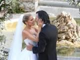 Sylvie Meis en haar Niclas stralen op hun bruiloft