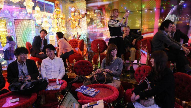 De lounge van het Robot Restaurant. Beeld Hollandse Hoogte