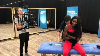 Elodie Ouedraogo geeft zich niet gewonnen: ondanks blessure staat ze weer op de dansvloer