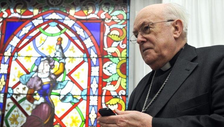 Godfried Danneels Detail: Bisschoppen Hekelen Politieke Heksenjacht