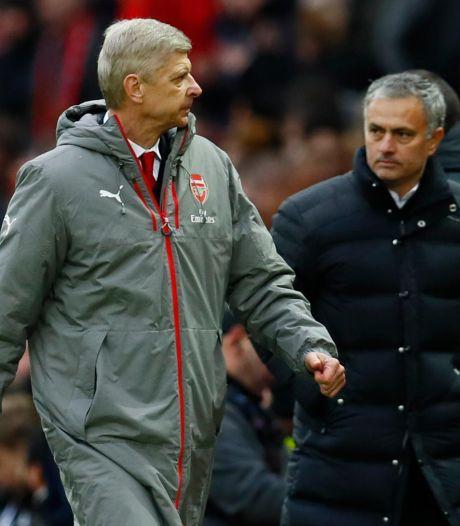 """Wenger répond aux critiques de Mourinho: """"L'impression d'être un peu à l'école maternelle"""""""
