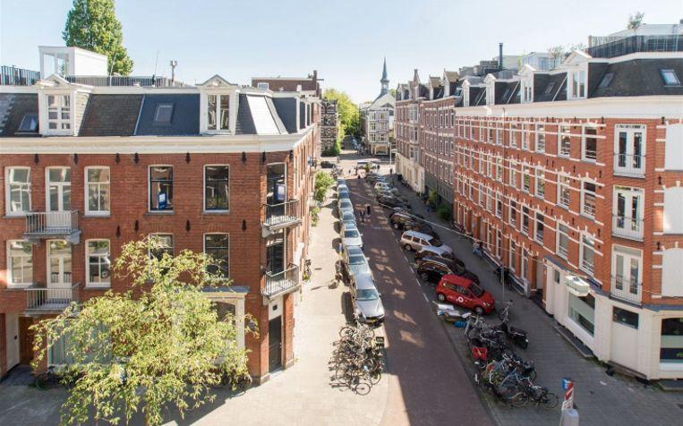 De Eerste Helmersstraat. Beeld Funda