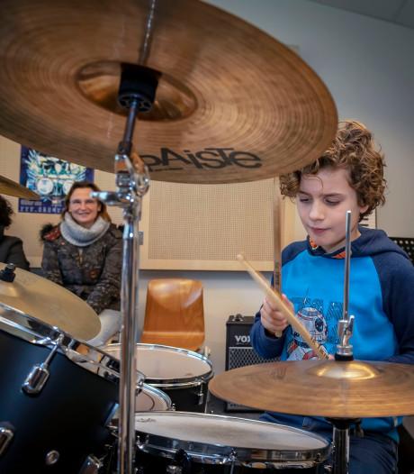 Geslaagde open dag bij Muziekschool De Suite