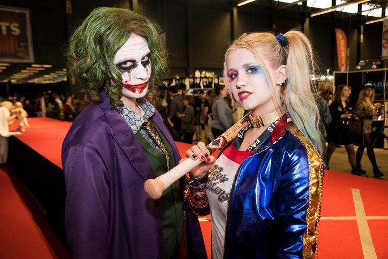 Fans van Fantasy en Sciencefiction palmen Flanders Expo in tijdens Facts in Gent.