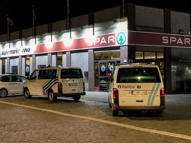 LIER - Overval op Spar supermarkt Reva in Eeuwfeestlaan in Lier.