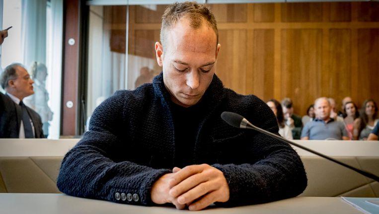 Yuri van Gelder in de rechtbank van Arnhem. Beeld anp