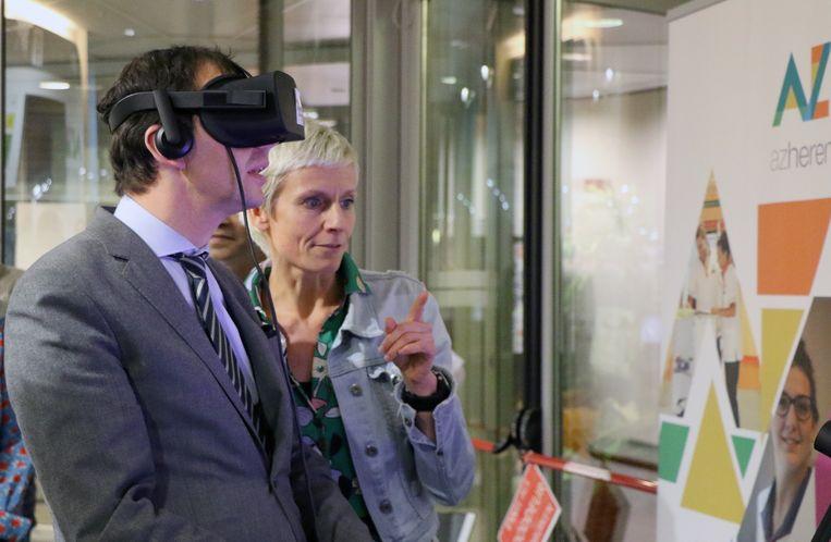 Wouter Beke maakte een virtuele reis door het epileptische brein