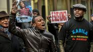 Tweehonderdtal Congolezen betogen in Brussel tegen president Kabila